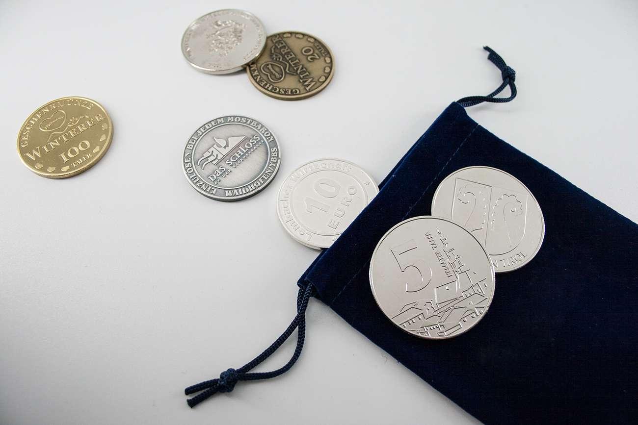 Geschenkmünzen Schwertner Graz